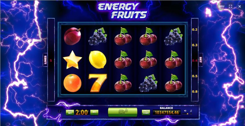 Energy Fruits slots