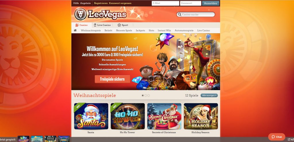 LeoVegas casino UK